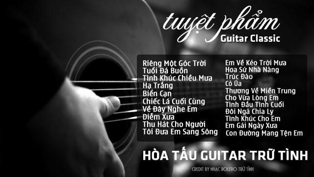 20 bản hòa tấu Guitar Tình khúc về Biển (nhiều videos)