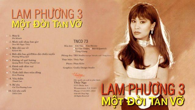 40 Năm Âm Nhạc Lam Phương 3